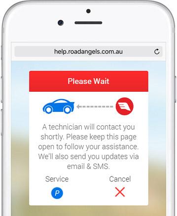 Road Angels web app assistance request